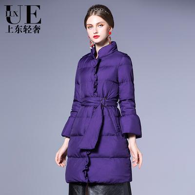 棉衣女时尚加厚保暖修身中短款棉服