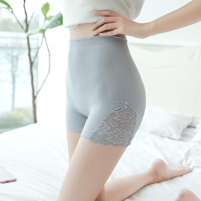 打底裤可外穿高腰无痕蕾丝安全裤