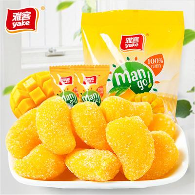 雅客 芒果味 水果软糖 500g 10.8元包邮