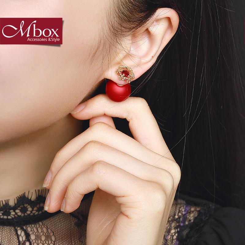 韩国耳钉女气质个性创意小耳坠