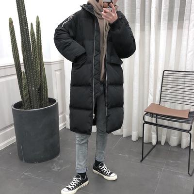棉衣情侣冬季外套男加厚中长款棉服韩版宽松