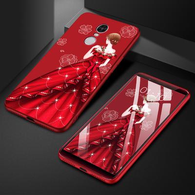 小米红米5手机壳红米5Plus软硅胶磨砂