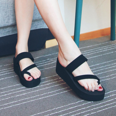 凉拖鞋夏时尚外穿厚平底学生沙滩鞋