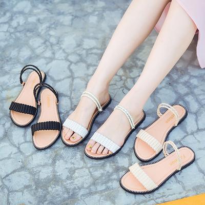 伊路歌 女士 夏季 平底凉鞋 14.8元包邮