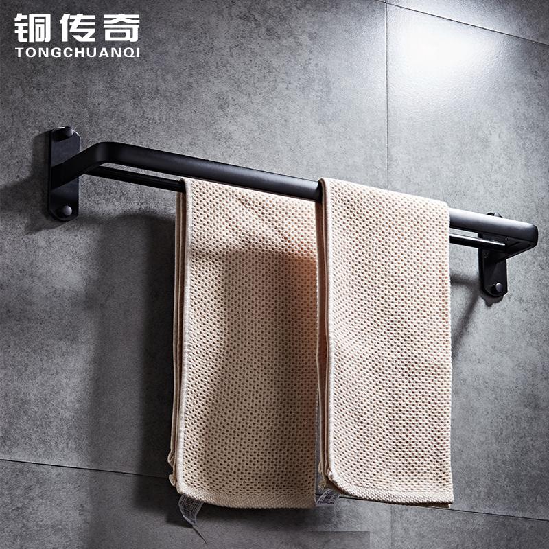 【极有家】欧式太空铝免打孔浴室置物