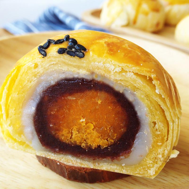 传统手工海鸭蛋黄酥 60g*4个