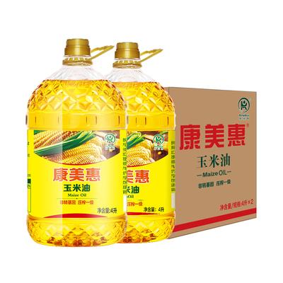 领券精选汇总:【康美惠】非转基因玉米油4Lx2桶等