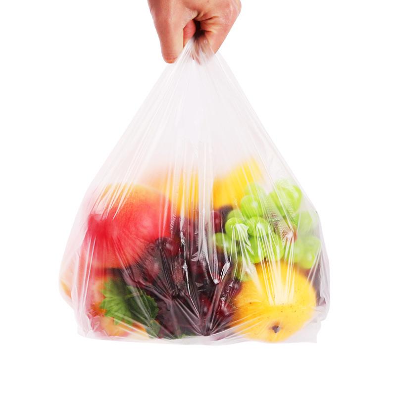 拉链袋1只+手提家用塑料袋50只装