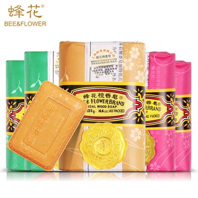 蜂花 上海 正宗檀香皂 125g*6块 22.9元包邮