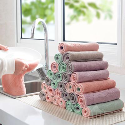 【居家家】10条加厚抹布擦手巾洗碗布
