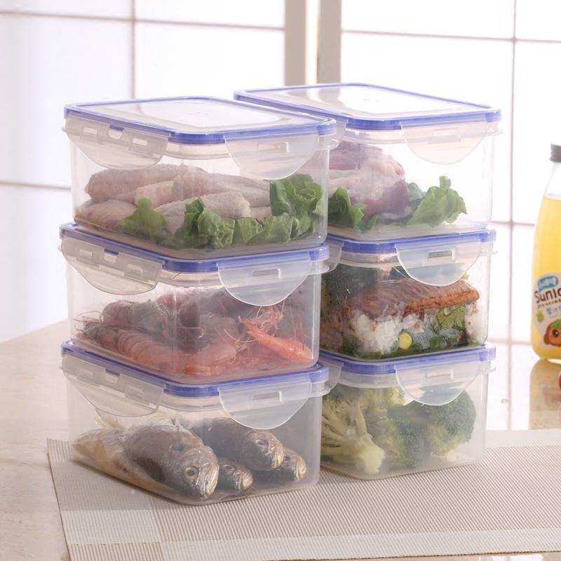 冰箱收纳保鲜盒 2000ml*2个