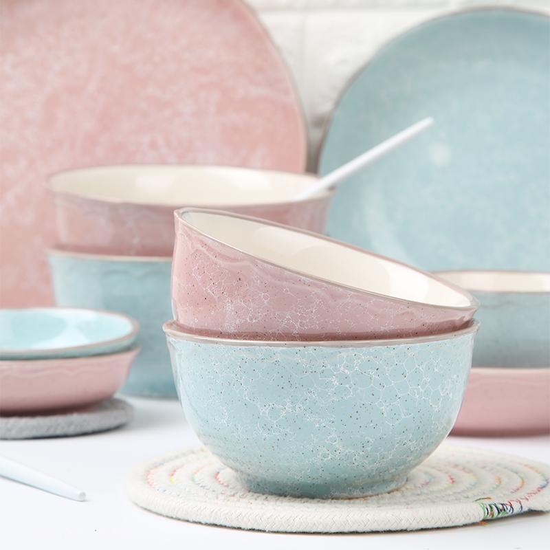 【三塘】创意陶瓷饭碗 4个装