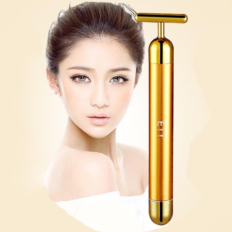 【ETT】24k电动美容棒3D瘦脸提拉紧容仪