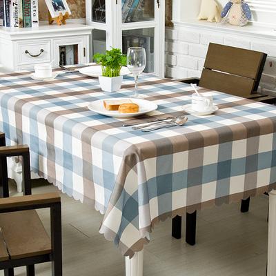 【竹月阁】小清新棉麻餐桌垫