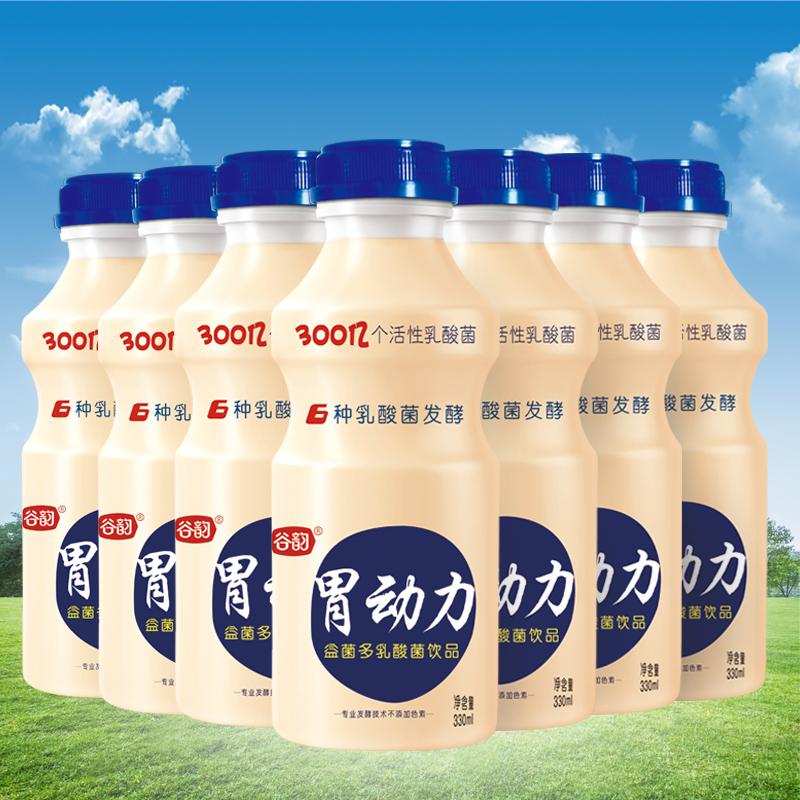 谷韵胃动力 乳酸菌酸牛奶 330ml*12瓶