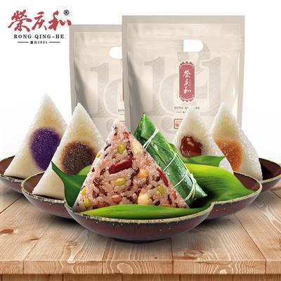 【荣庆和】五味香甜粽5只500g