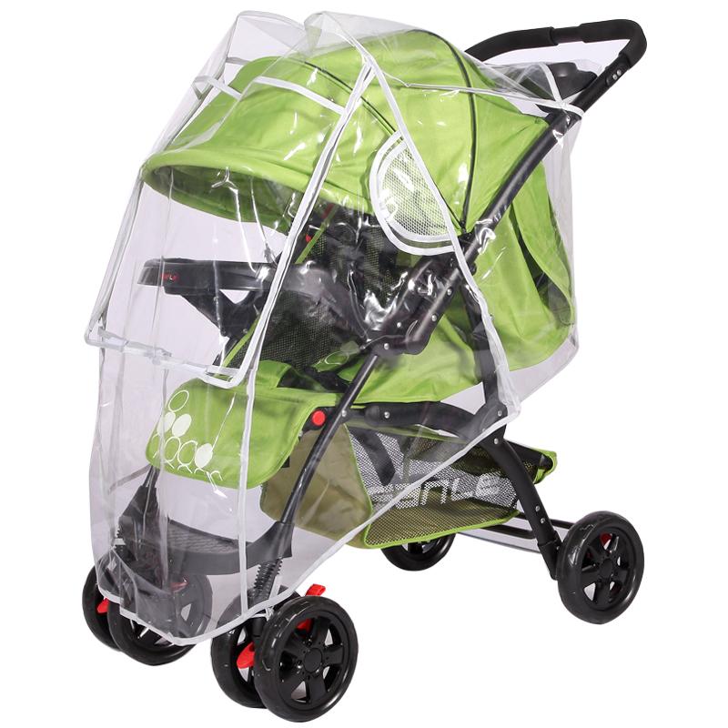通用型婴儿雨罩推车防风罩雨衣