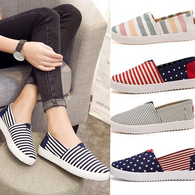 老北京帆布鞋百搭休闲女鞋