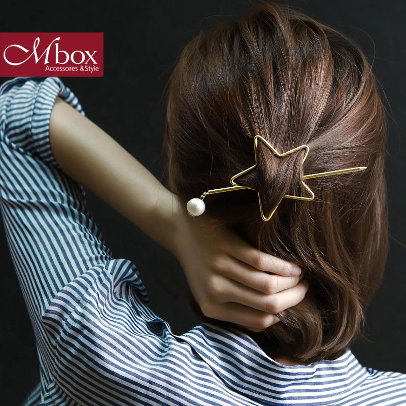 Mbox韩版时尚简约设计发饰发夹