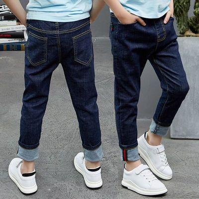 【贝喜龙】秋装新款韩版男童牛仔裤