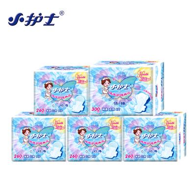 小护士卫生巾日夜组合装5包48片