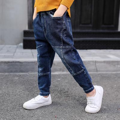 牛仔裤儿童裤子童装弹力裤小脚裤