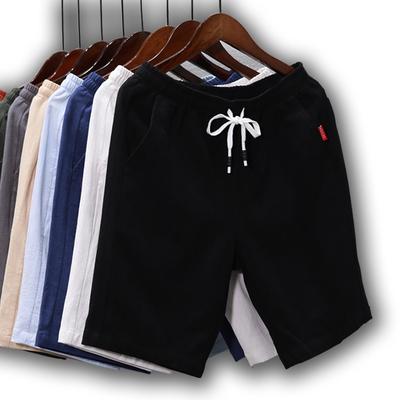 【月销16万】男日系纯棉运动五分短裤