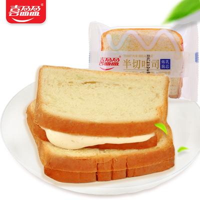喜盈盈芝士炼乳切片吐司面包整箱【10包】