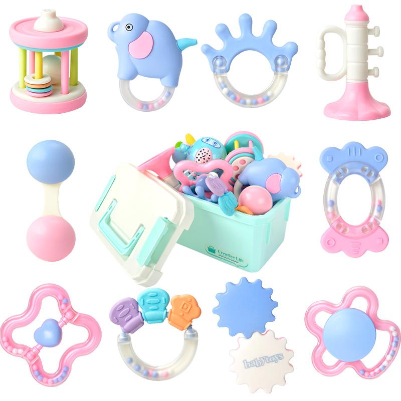 【婴儿玩具】手摇铃可水煮牙胶