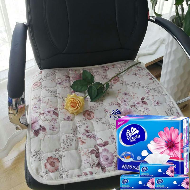 精品布艺坐垫+3包正品维达抽纸