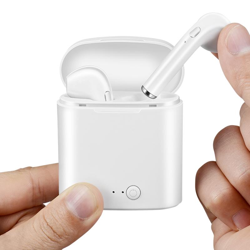 苹果安卓通用i7无线蓝牙耳机【买1送3】优惠券100元