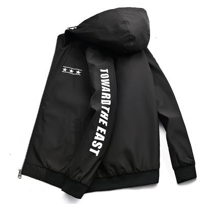 韩版时尚修身休闲连帽夹克棒球服