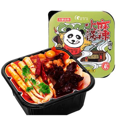威其诺食品自热速食麻辣小火锅416g