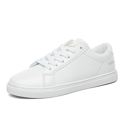 新款百搭韩版学生平底透气休闲板鞋女