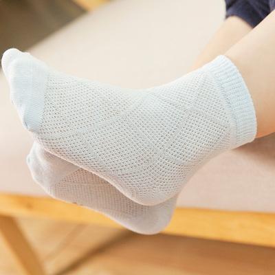 夏季薄款0-12岁纯棉网眼袜优惠券5元