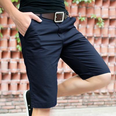 夏季纯棉休闲沙滩裤宽松运动5五分裤