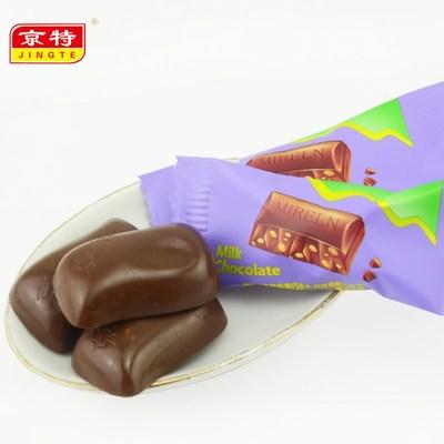【先领券】京特蜜瑞莲脆米芝麻黑巧克力喜糖糖果年货批发包邮(代可可脂)