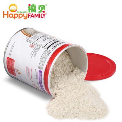 【美国进口】有机高铁米粉米糊2段3罐