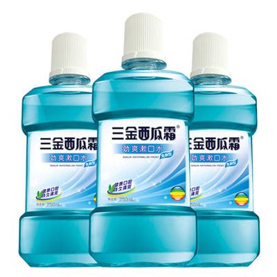 西瓜霜专利杀菌防蛀漱口水3大瓶