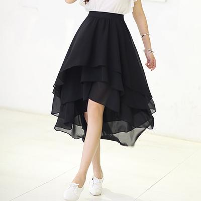 2018春季新款高腰半身裙