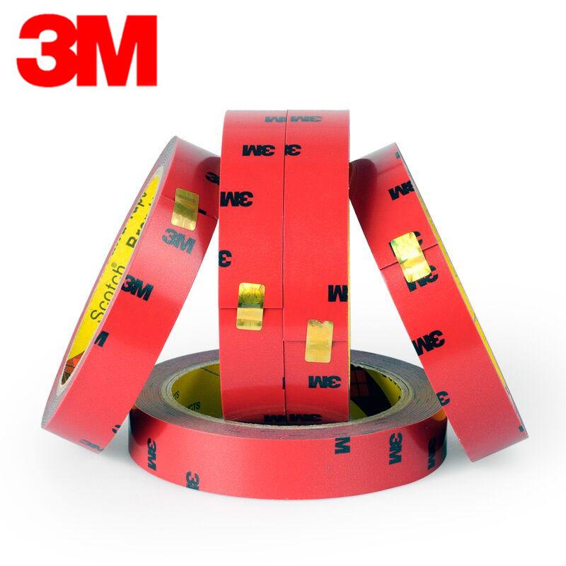 【3M】超粘无痕车用超薄双面胶带