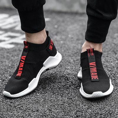 夏季潮鞋透气飞织跑步鞋休闲运动鞋
