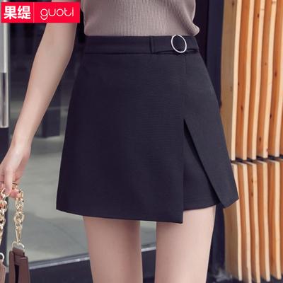 半身裙子女春夏韩版时尚a字裙不规则短裙