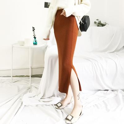 伊彩漫莎 女士 中长款针织半身裙 29元包邮