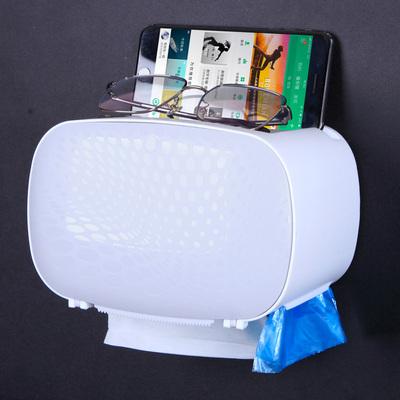 整点抢购:卫生间厕所纸巾盒免打孔置物架等