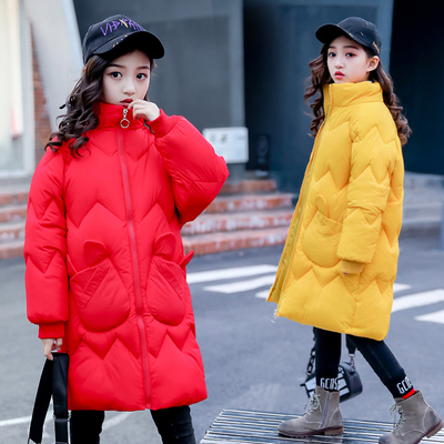 儿童韩版冬季羽绒棉服外套