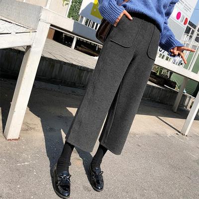整点抢购:秋冬新款高腰宽松毛呢阔腿裤等